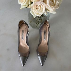 Manolo Blahnik PVC Pacha Pointed Toe Pumps